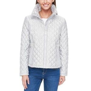Lightweight Full Zip Quilted Jacket White NWT XL